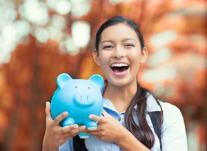 Colorado Springs Dental Financing piggy bank